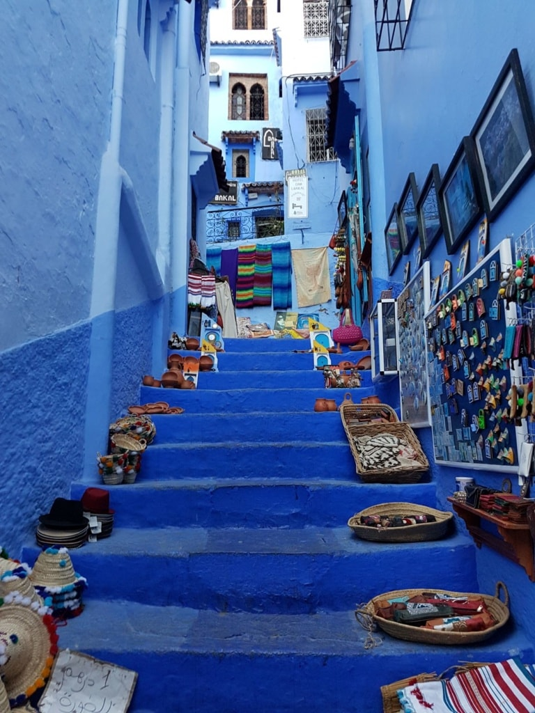 Treppe in Chefchaouen