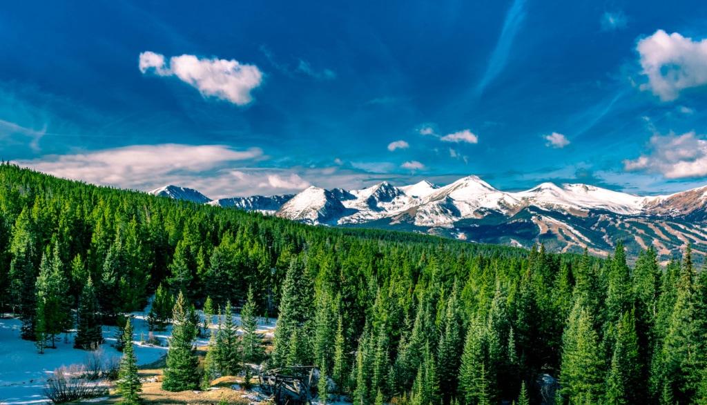 In Breckenridge in Colorado trifft eine goldreiche Vergangenheit auf die wunderschöne Natur der Rocky Mountains.