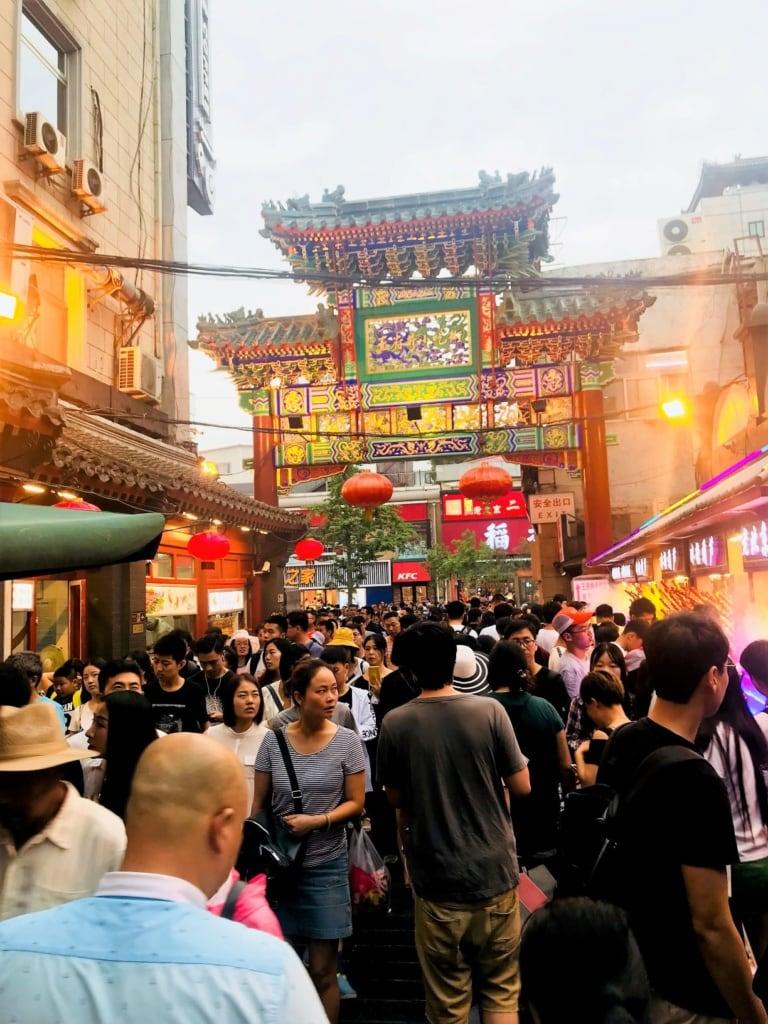 Nachtmarkt in Peking