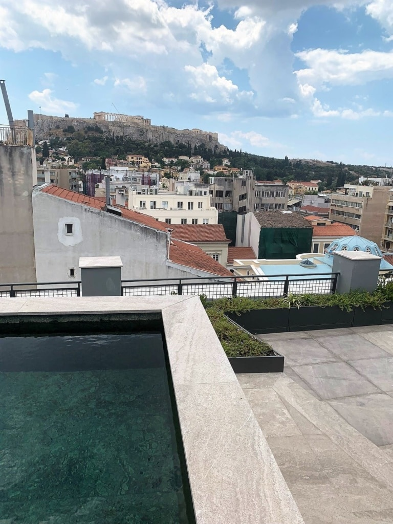 Pool im Perianth Penthouse, Athen