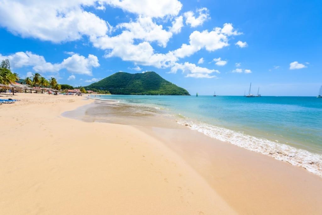 reduit beach st. lucia