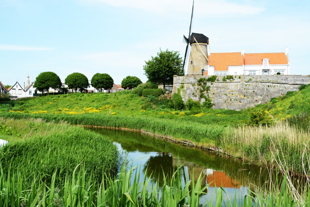 Zierikzee mit Windmühle