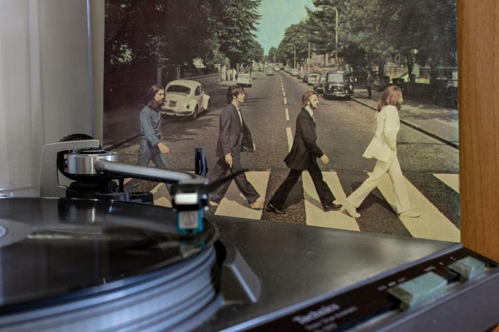 The Beatles Zebrastreifen