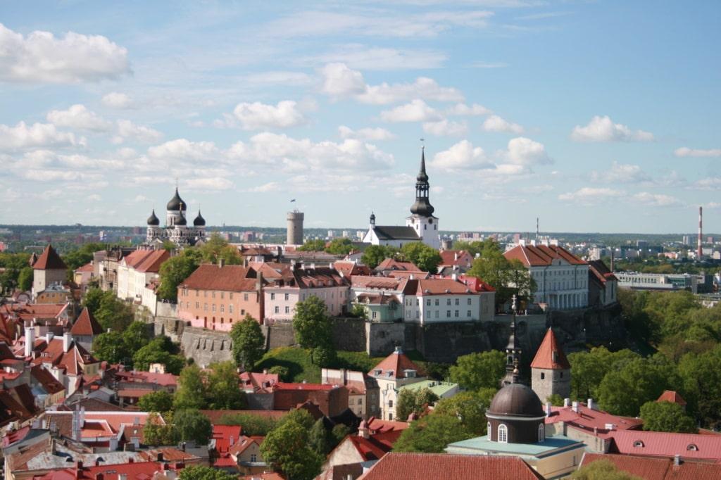 Tallinn in Estland ist eine der schönsten erhaltenen Mittelalterstädte Europas.