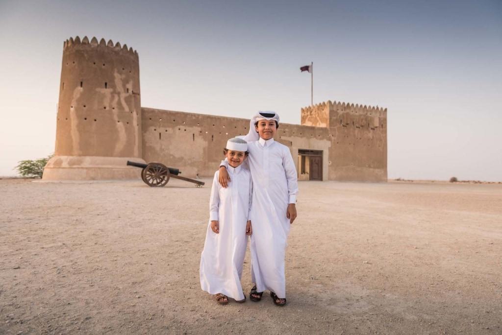 Das Al Zubara Fort in Qatar ist eines der Musst-Sees des Landes.