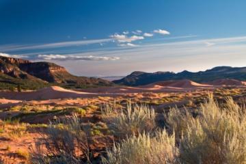 Coral Pink Sanddunes Utah