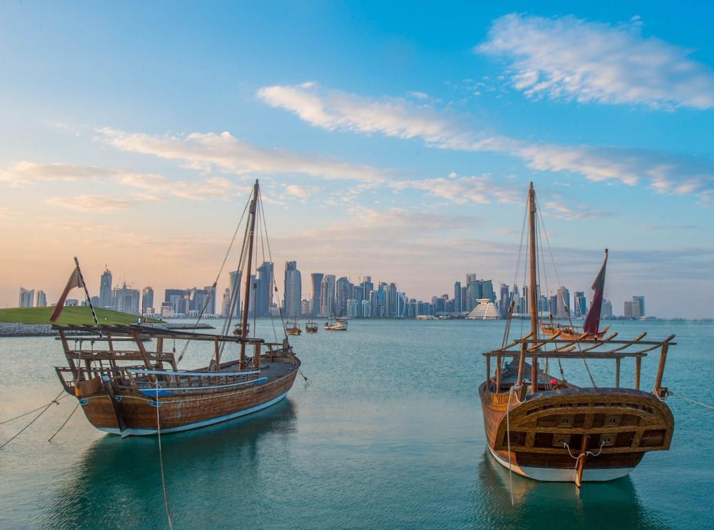 In Qatar trifft Moderne auf Tradition.