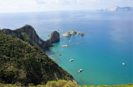 Insel Ponza Meer Yacht