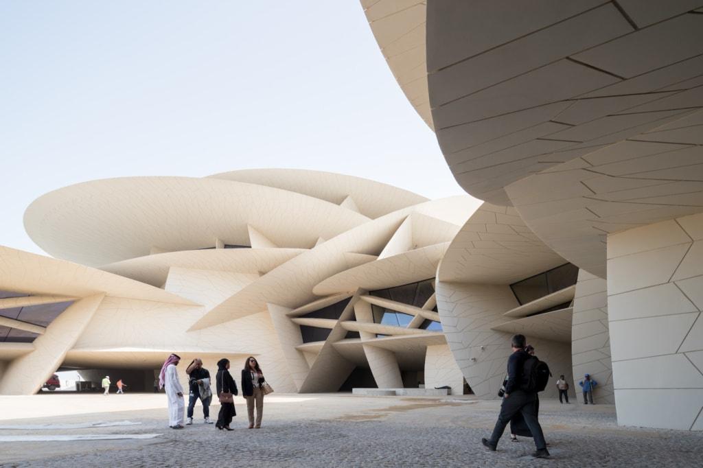 Das Nationalmuseum in Doha ist eines der Musst-Sees in Qatar.