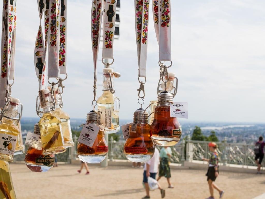 Palinka Souvenir Flaschen Ungarn