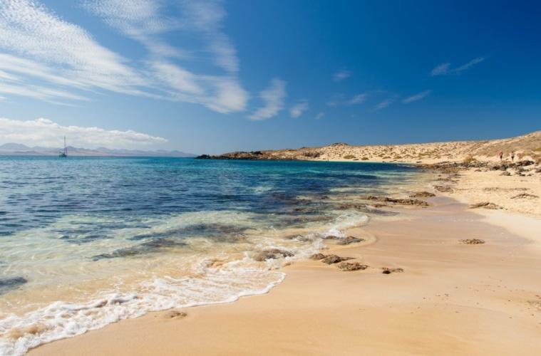 Playa La Francesa auf La Graciosa