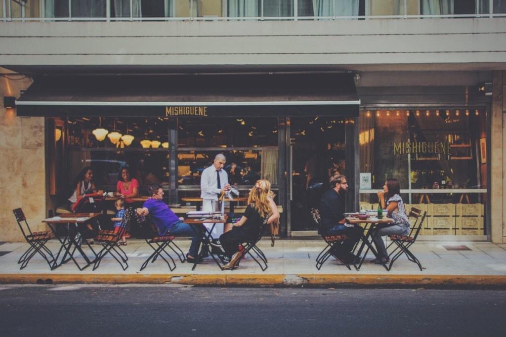 Restaurant Terrasse Buenos Aires