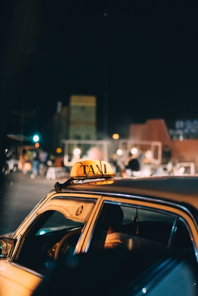 Im Urlaub Geld sparen: Taxi