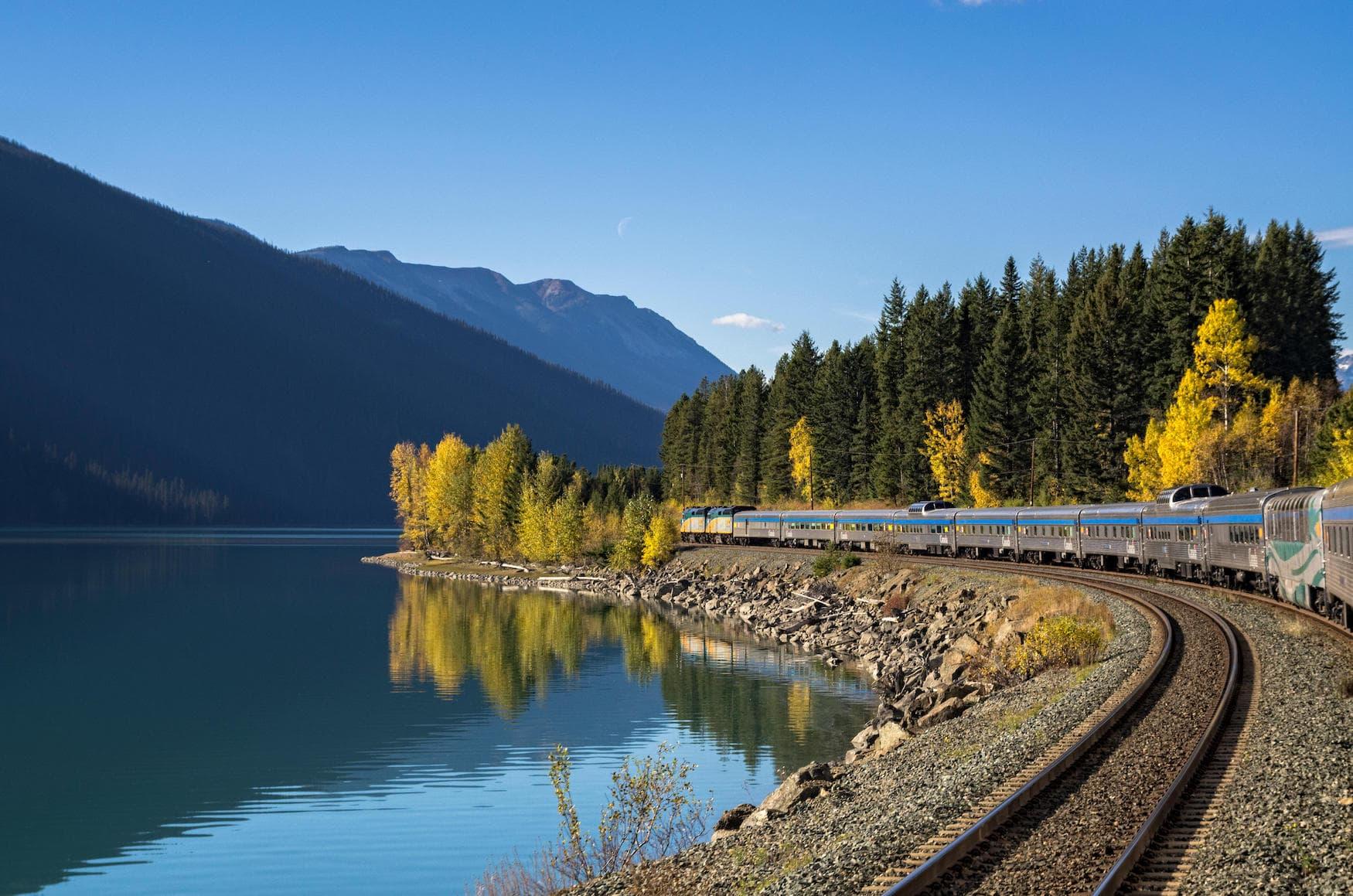 Spektakuläre Zugfahrten: Mit dem Zug durch Westkanada, Jasper Prince Rupert