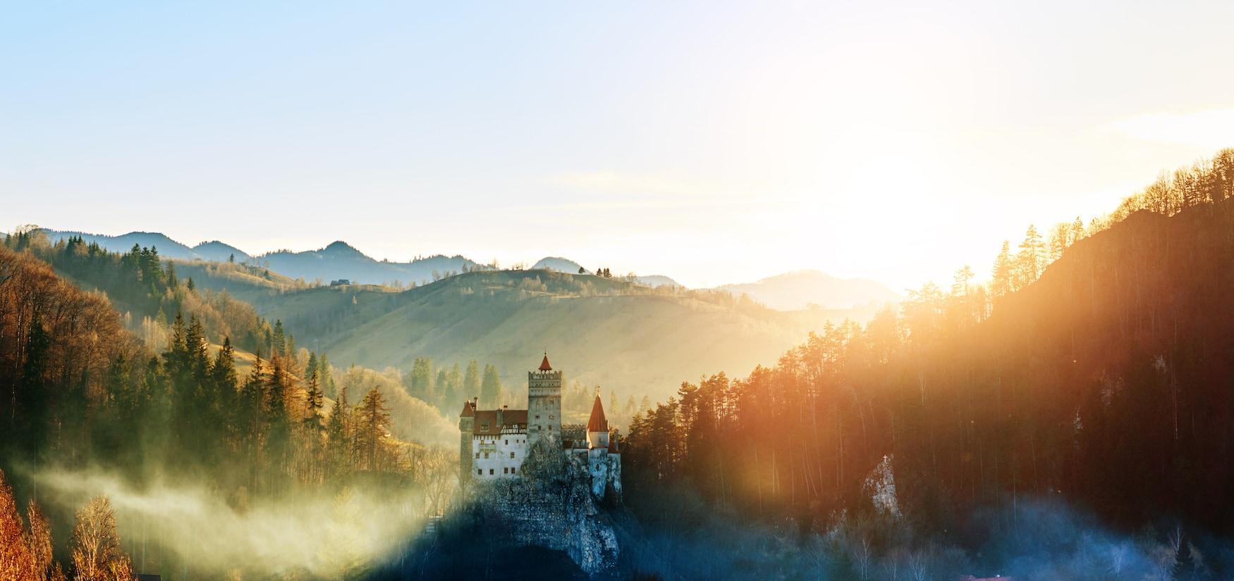 Hier in Transilvanien lebt die Legende von Graf Dracula