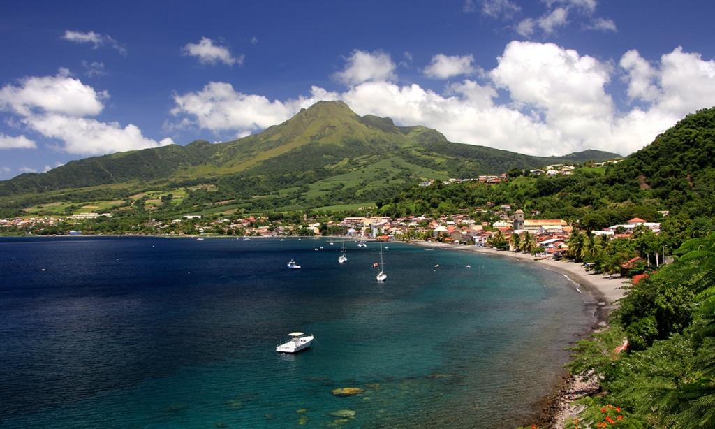 Segeln auf den BVI - Martinique - Saint Pierre