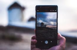 Instagram-Spots auf Mykonos: Windmühlen