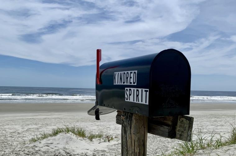 Kindred Spirit Mailbox in North Carolina