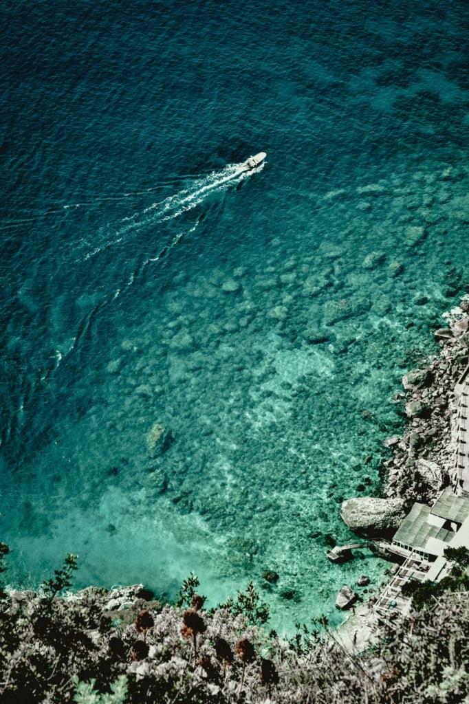 Insel Capri Küste