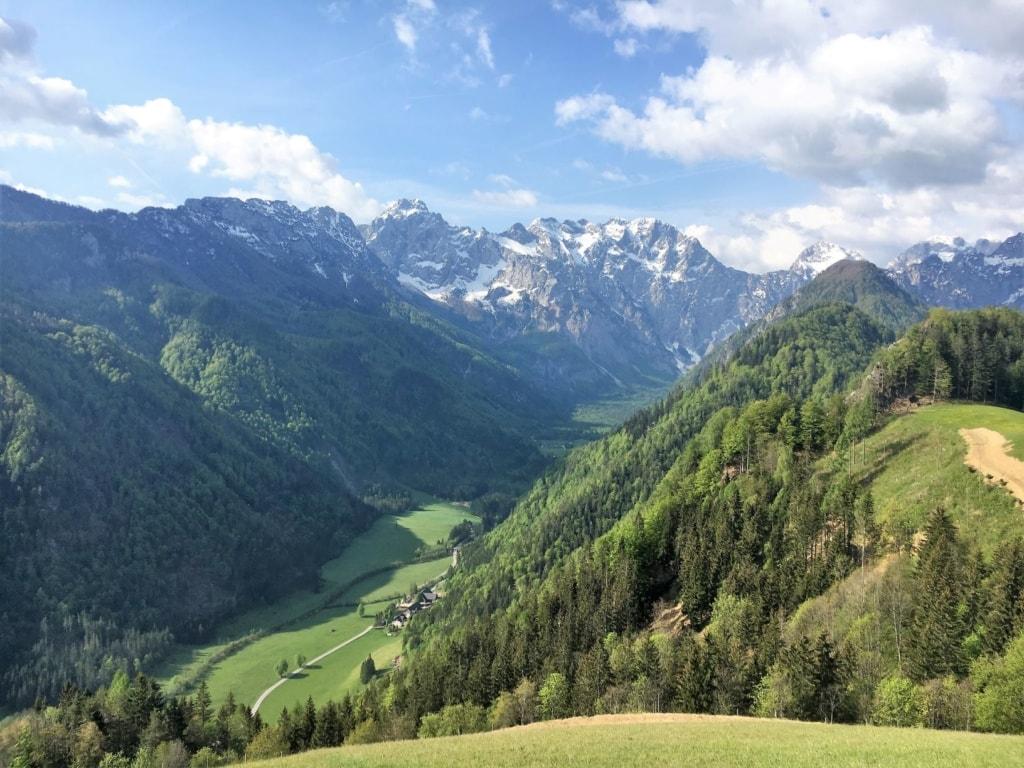 Logarska-Tal in Slowenien