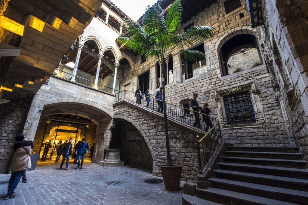 Museu Picasso Museum in Barcelona