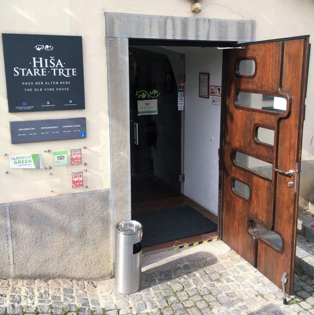 Museum der alten Rebe in Maribor, Slowenien