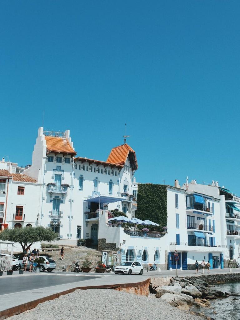 Ort am Meer an der Costa Brava