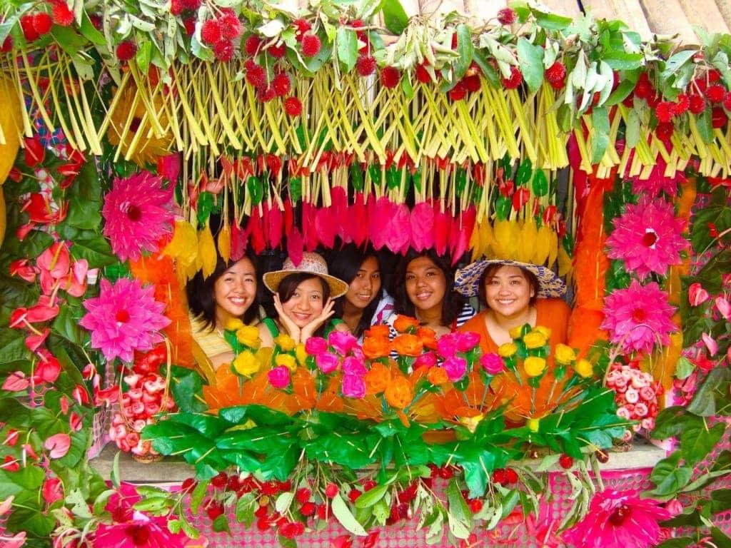 Die Philippinen sind berüchtigt für ihre bunten Festivals.