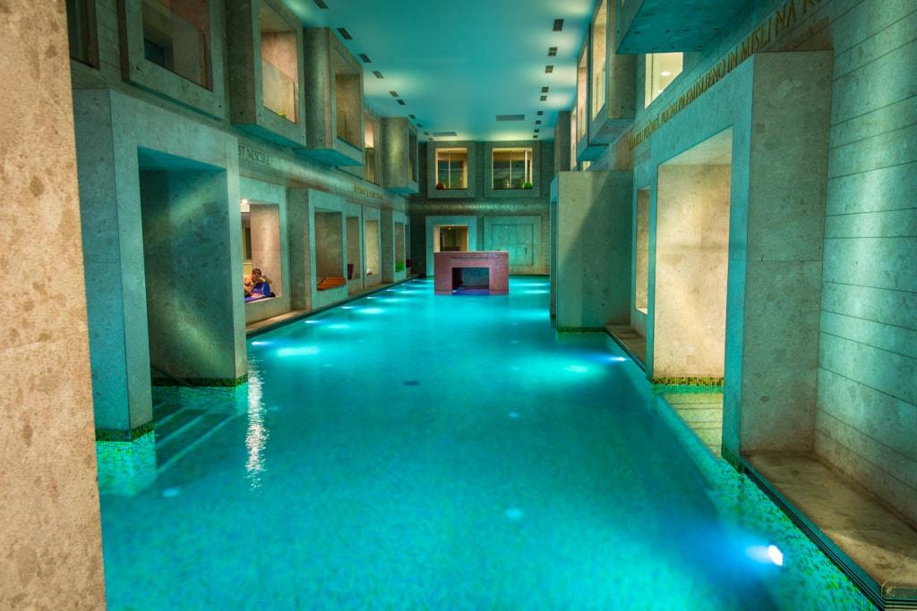 Schwimmbad im Rimske Terme Resort