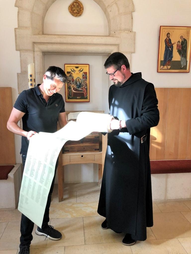 Stefan Gödde in Jerusalem