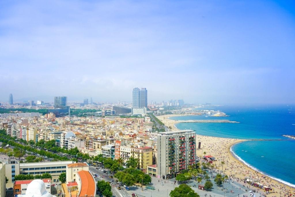Strand-Panorama Barcelona