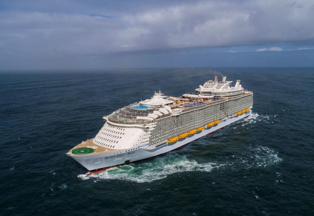 Symphony of the Seas auf dem Meer