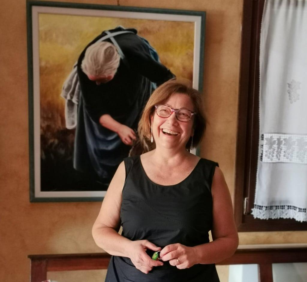 Winzerin Emanuela Bincoletto