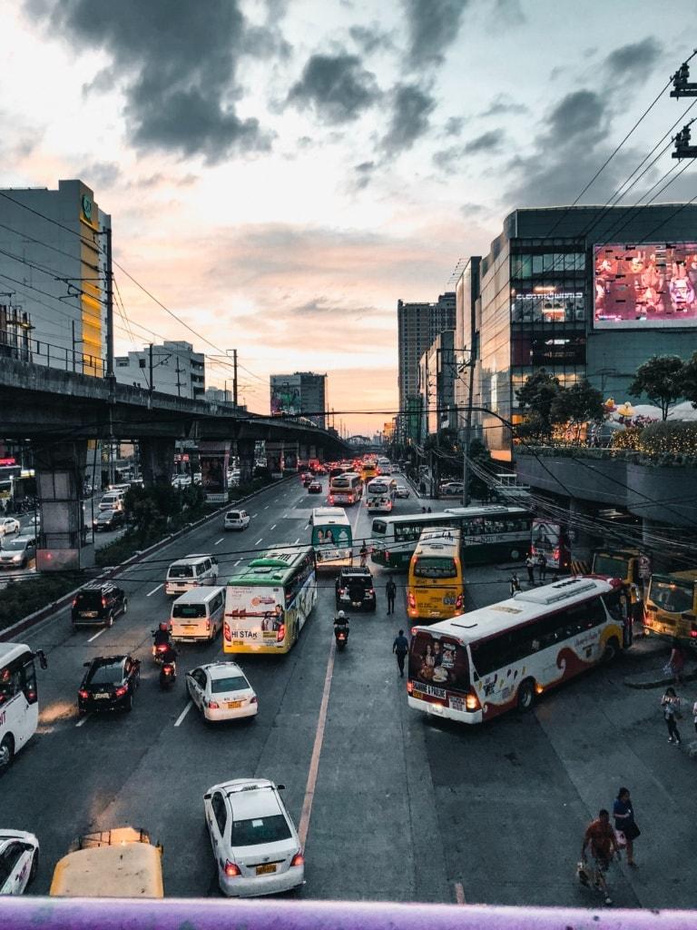 Verkehrschaos auf den Philippinen
