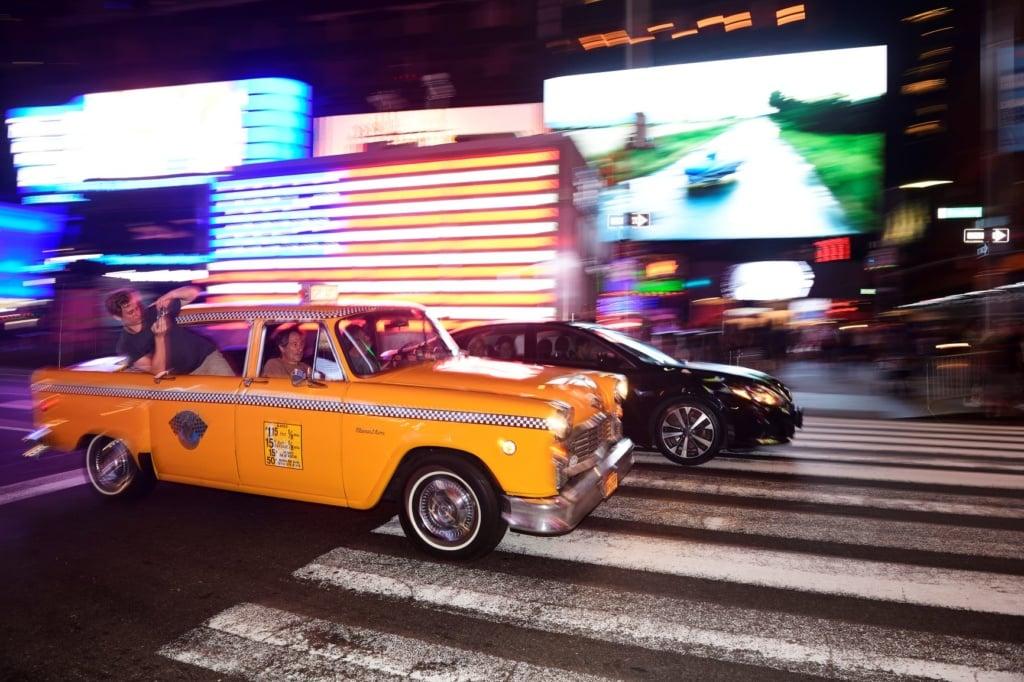 Oldtimer auf den Straßen Manhattans