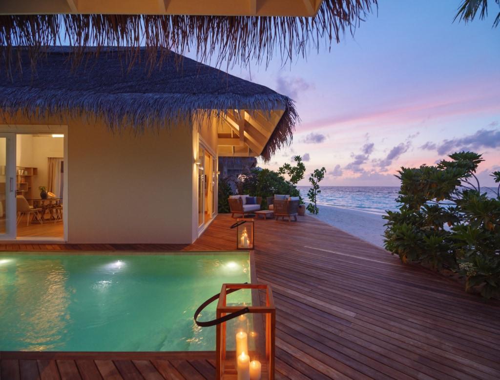 Suite Beach Villa im Baglioni Resort Maldives