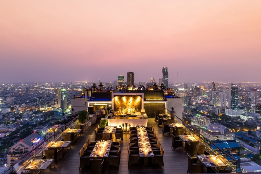 Moon Bar im Banyan Tree Bangkok