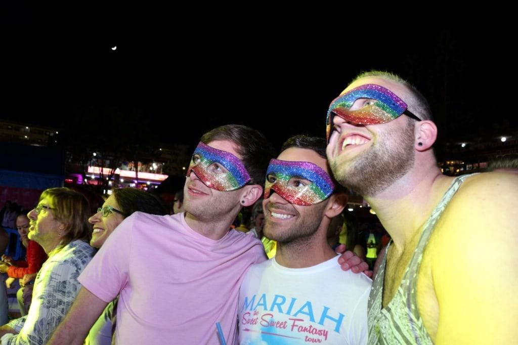 Besucher des Maspalomas Pride auf Gran Canaria