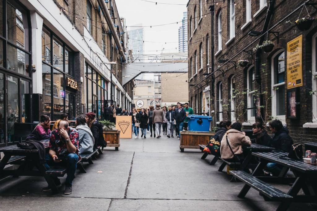 Streetfood findet sich in Londons In-Viertel Shoreditch zur Genüge.