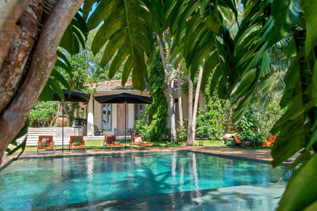 Pool im Haritha Villas + Spa, Sri Lanka