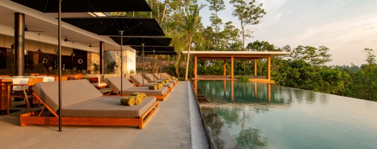 Hoteleröffnungen im Herbst 2019: Pool des Haritha Resorts in Sri Lanka