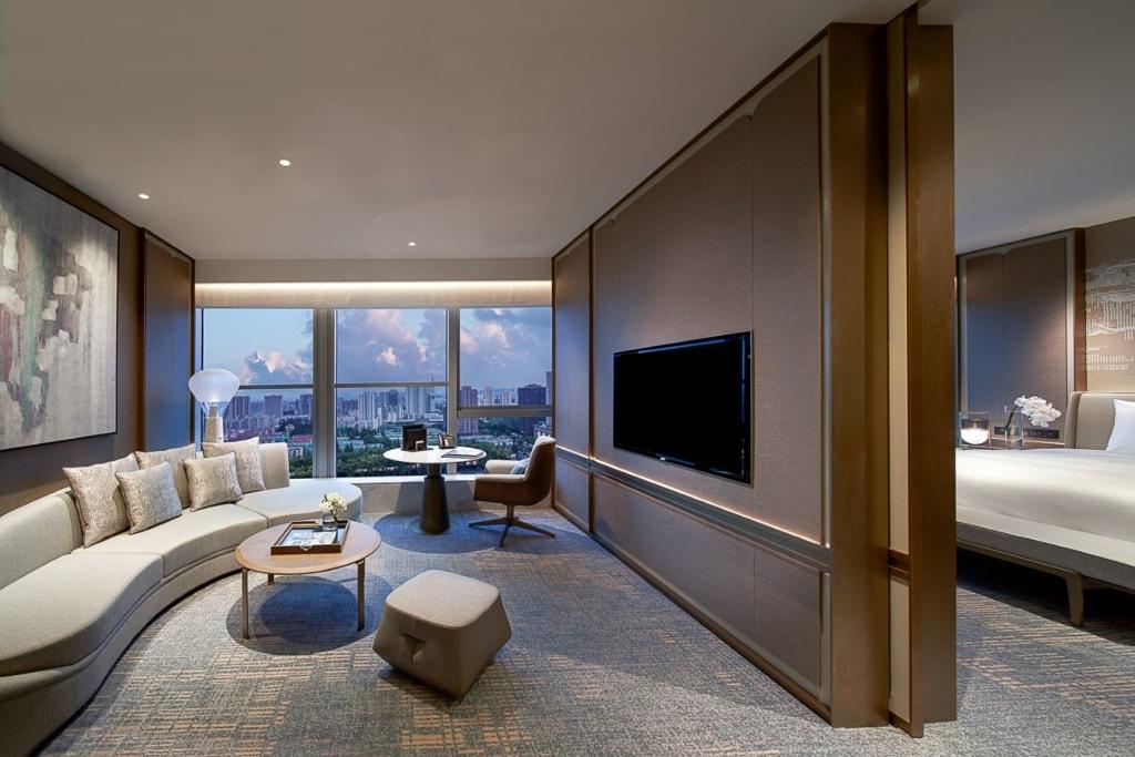 Deluxe Junior Suite im Kempinski Hotel Nanjing
