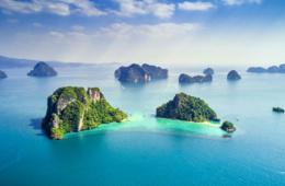 Inselgruppe Koh Yao Noi in Thailand