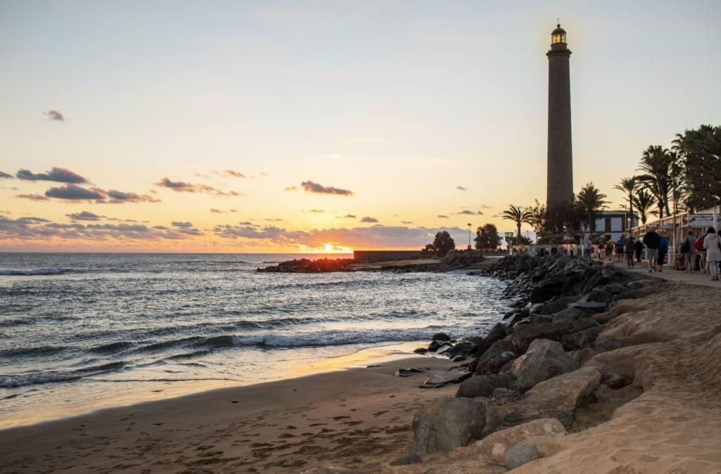 Leuchtturm von Maspalomas auf Gran Canaria