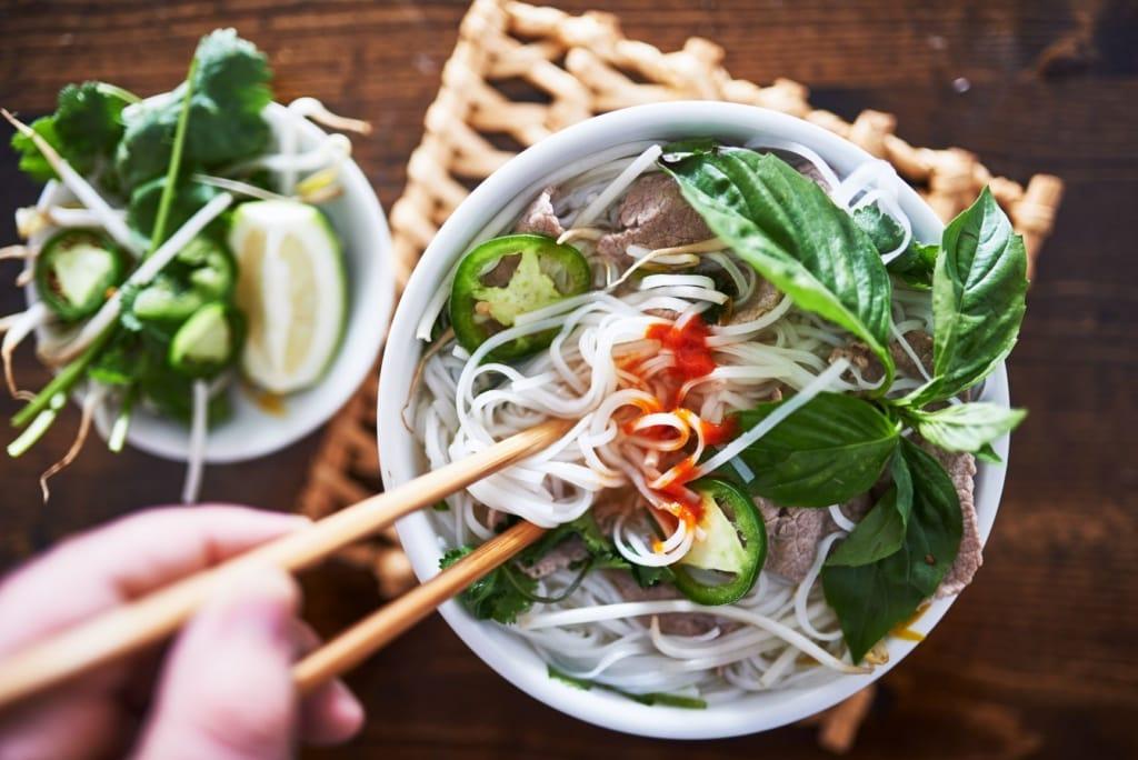 Vietnamesische Nudelsuppe, Pho-Suppe