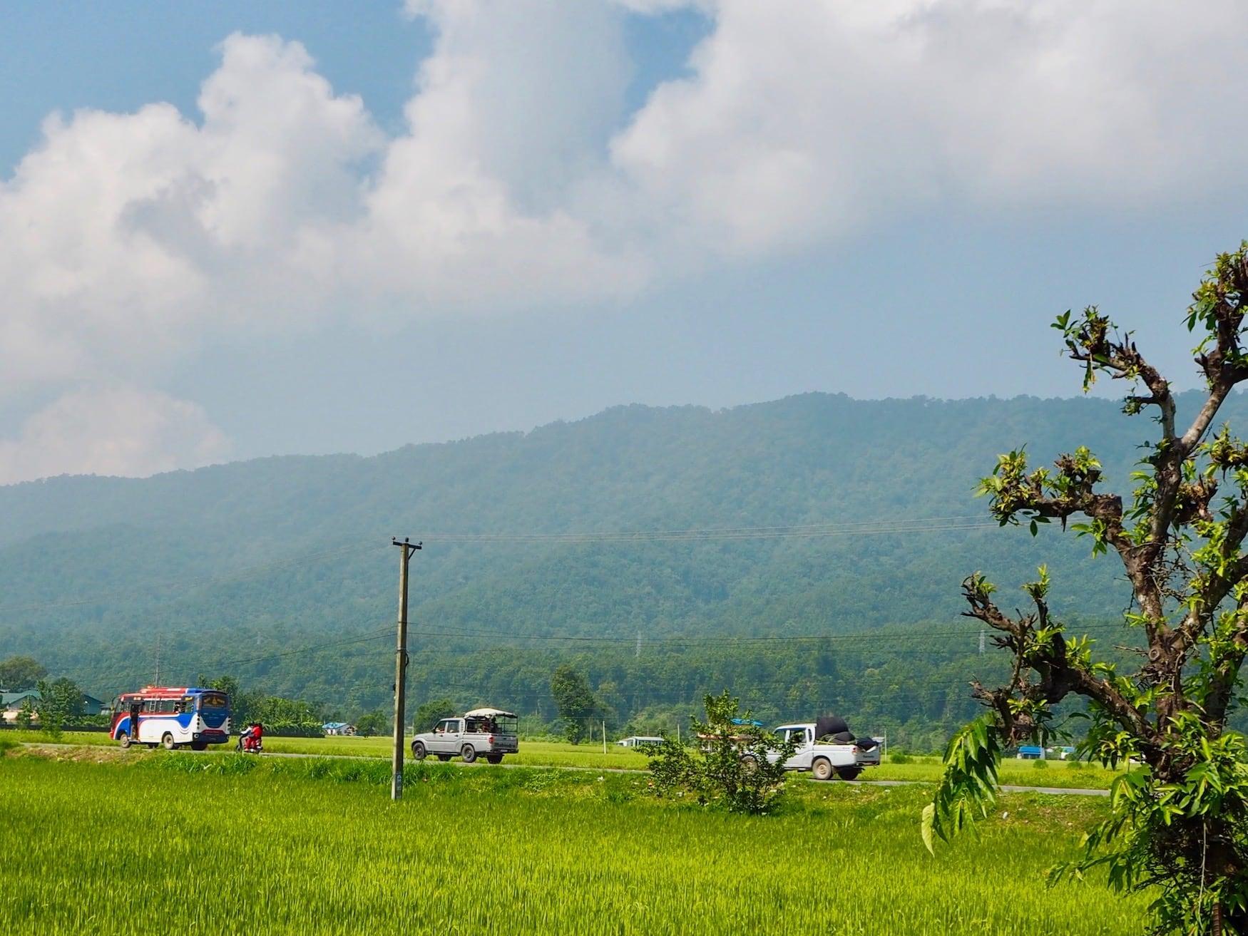 Busfahren in Nepal: Famose Aussichten