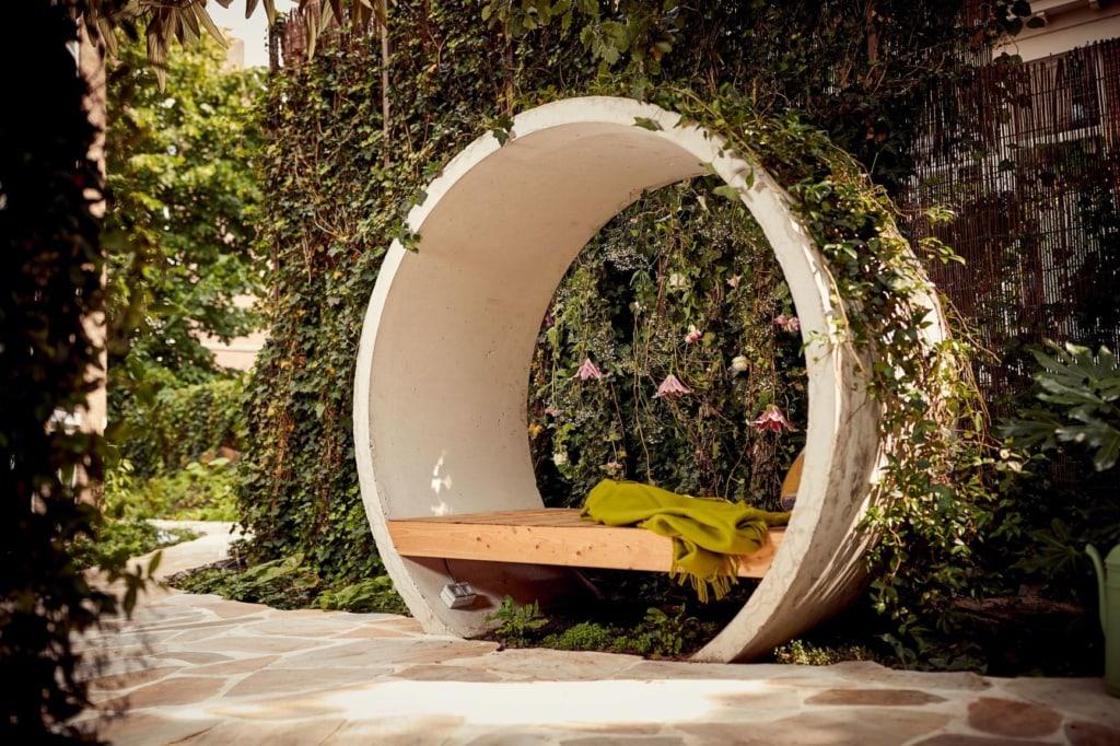 Private Garden im Park Plaza Vondelpark Amsterdam