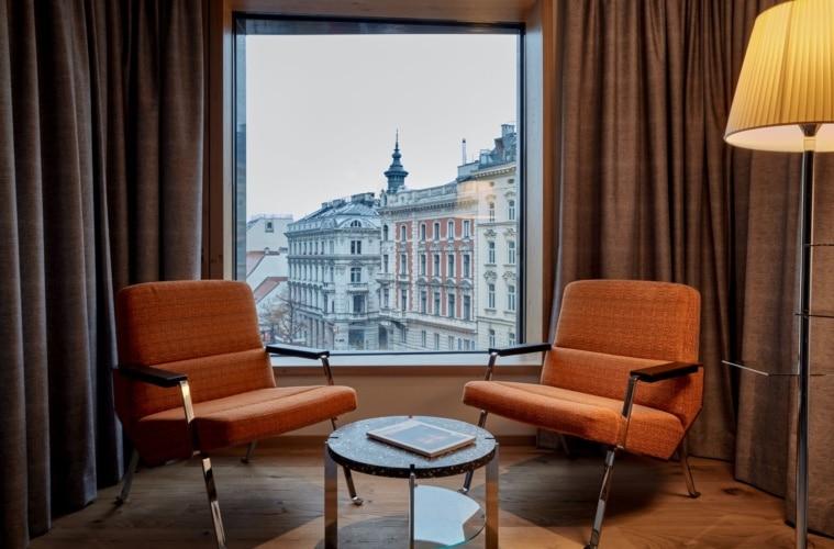 Sitzgruppe im Hotel Das Triest in Wien
