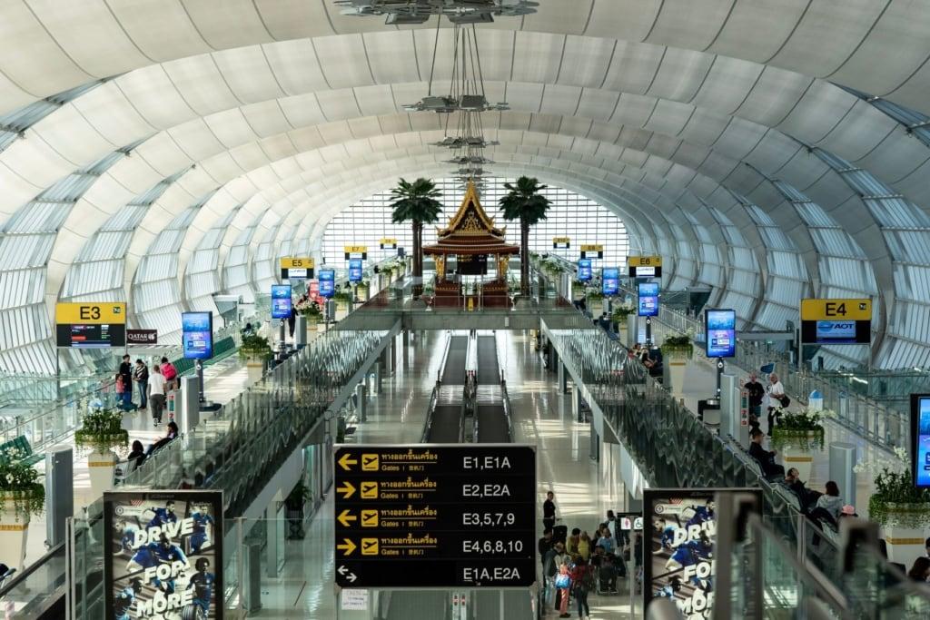Terminal im Suvarnabhumi Airport