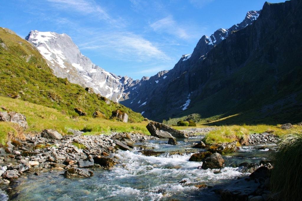 Der Traum von Neuseeland: der Gillespie Path.